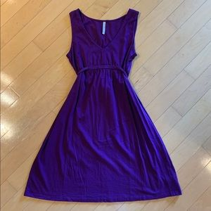 Old Navy purple sleeveless dress, new without tags